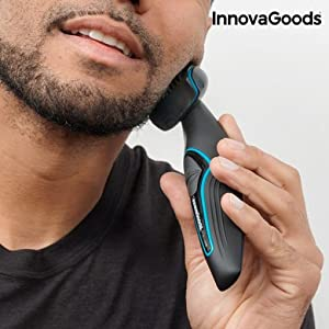 InnovaGoods IG114543 Depiladora Corporal para Hombre con Mango ...