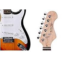 Rocktile Banger - Pack de 7 piezas, guitarra eléctrica, sunburst ...