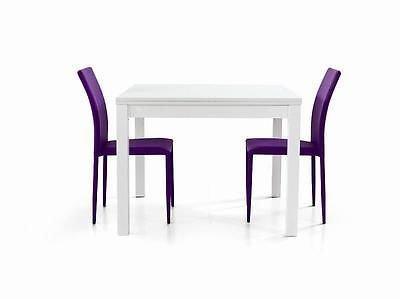 Fashion commerce fc559v tavolo allungabile legno bianco - Tavolo apribile ikea ...