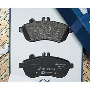 Scheibenbremse Vorderachse HELLA PAGID 8DB 355 010-731 Bremsbelagsatz