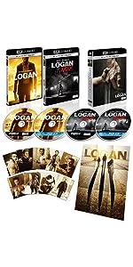 LOGAN/ローガン (4枚組)
