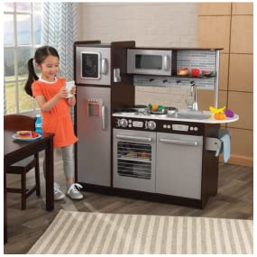 kidkraft uptown espresso play kitchen - Kidkraft Espresso Kitchen
