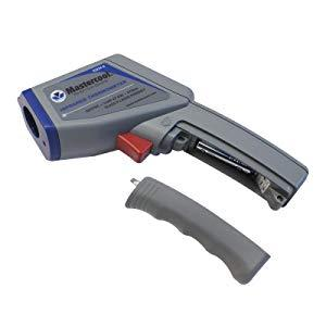 mastercool circular laser infrared thermometer batteries included