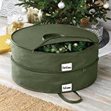christmas storage, holiday storage, tree bag, wreath bag, christmas tree bag, ornament storage