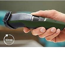 Philips bt3211/14 Serie 3000 Regolabarba, corded-electric, verde