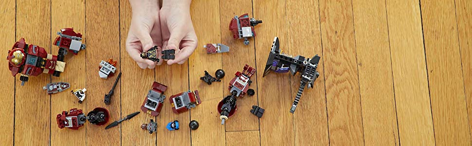 レゴ(LEGO)スーパー・ヒーローズハルクバスター・スマッシュアップ