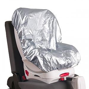 Hauck Cool Me - Cubierta universal para sillas de coche infantiles, aislante de frio y calor, resistente a rayos uva, agua y manchas, capa protectora ...