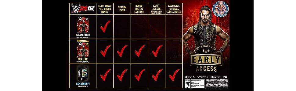 Amazon.com: WWE 2K18: Digital Deluxe Edition - Xbox One