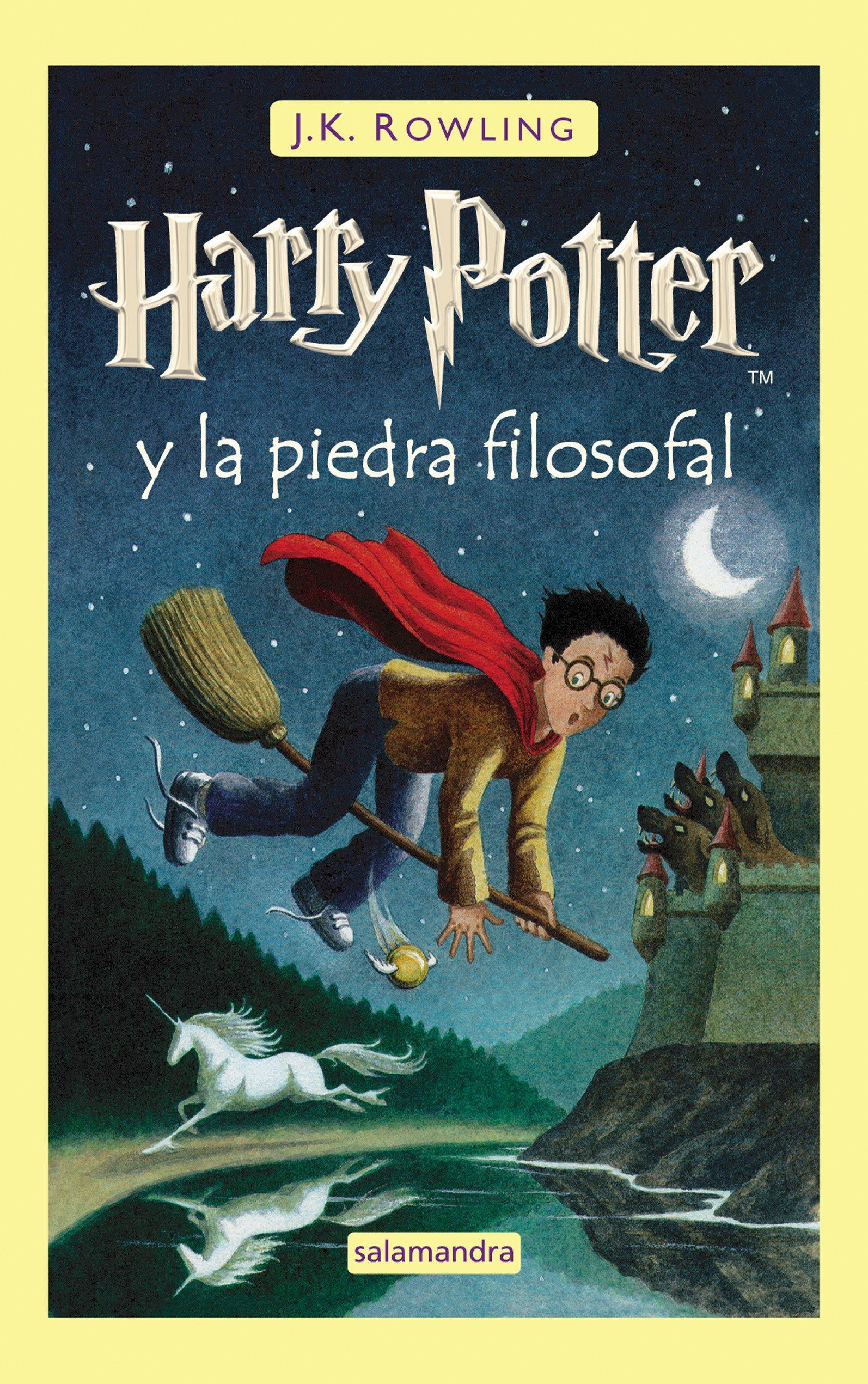 Harry Potter y la Piedra Filosofal: 1: Amazon.es: Rowling