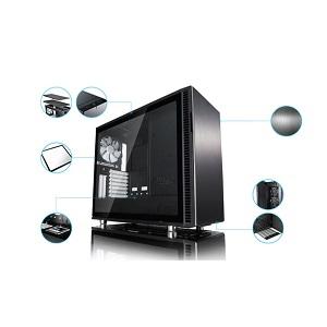 Fractal Design Define R6 Black ミドルタワー型PCケース