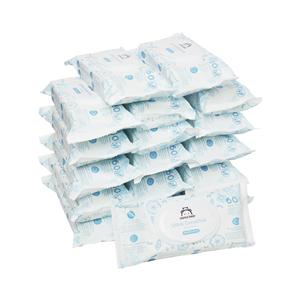 Marca Amazon - Mama Bear Ultra Sensitive - Toallitas humedas para bebé - Paquete de 18 (1080 toallitas -100% tejido biodegradable): Amazon.es: Salud y cuidado personal