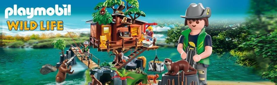 Playmobil Casa del Árbol de Aventuras 5557 , color/modelo surtido: Amazon.es: Juguetes y juegos