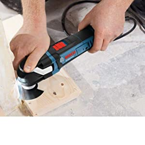 Bosch Professional Multitool GOP 40-30 (400 Watt, Starlock