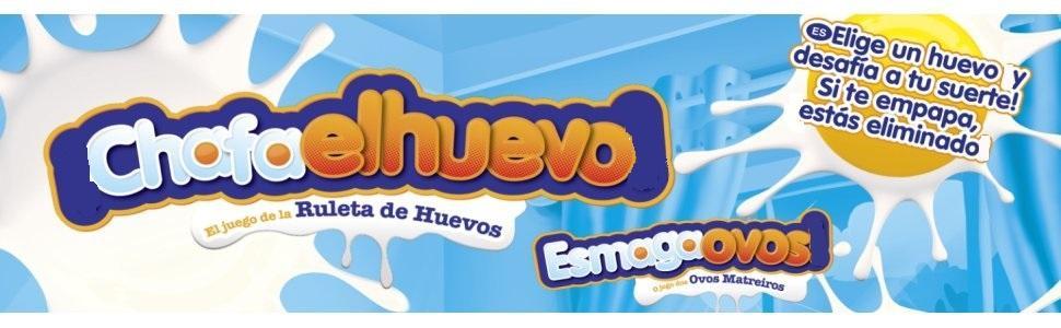 Hasbro Gaming Chafa el Huevo, Multicolor (C2473175): Amazon.es ...