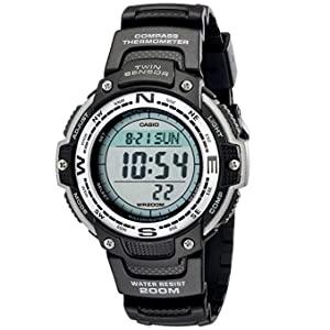 Casio Mens Digital Compass Twin Sensor Sport Watch