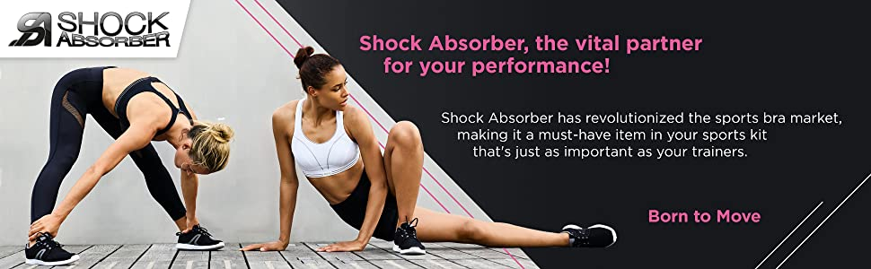 b2a67b491 Shock Absorber Classic Sports Bra  Shock Absorber  Amazon.co.uk ...