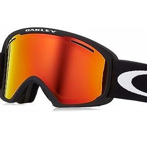 21b8d25b21 Amazon.com   Oakley O-Frame 2.0 XL Men s Snowmobile Goggles - Arctic ...