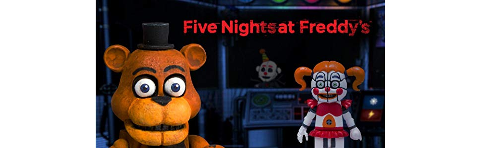 McFarlane Toys Five Nights at Freddys Paper Pals Party Small Construction Set