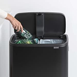 recycling bin; brabantia recycling bins; kitchen bins; brabantia kitchen bins large; large bins