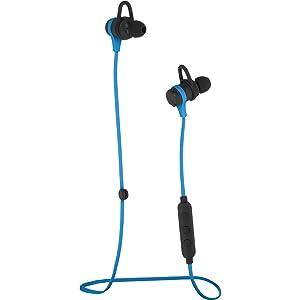 AmazonBasics Wireless Bluetooth Fitness Headphones with Microphone