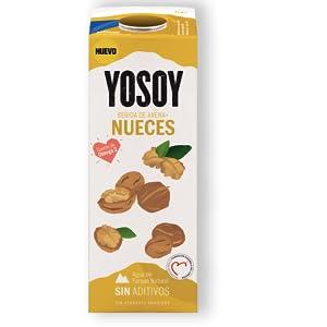 Yosoy - Bebida de Avena con Nueces, 6 x 1L: Amazon.es ...
