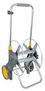 Hozelock Assembled 90 m Metal Hose Cart without Hose