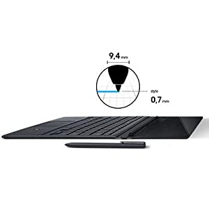 "Samsung Galaxy Book écran tactile Full HD 10,6"" Noir (Intel Core M3, SSD 64 Go, RAM 4 Go"