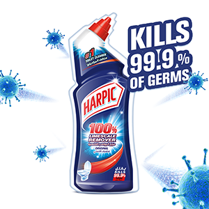 Harpic Liquid Toilet Cleaner - Limescale Remover Orginal