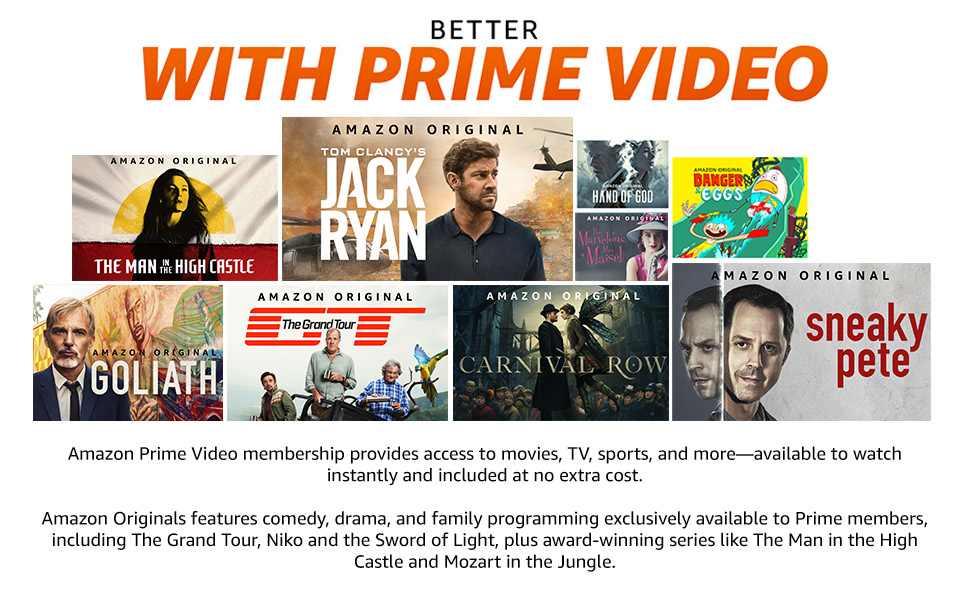 Better with Prime Video
