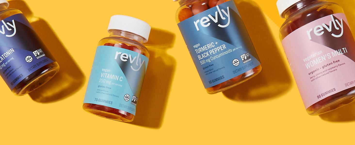 Revly Gummy Vitamins & Supplements