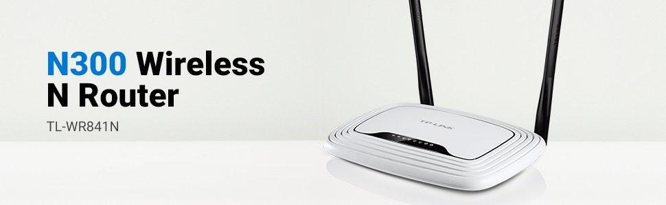 TP-Link TL-WR841N 300Mbps Wireless-N Router, Rs 935