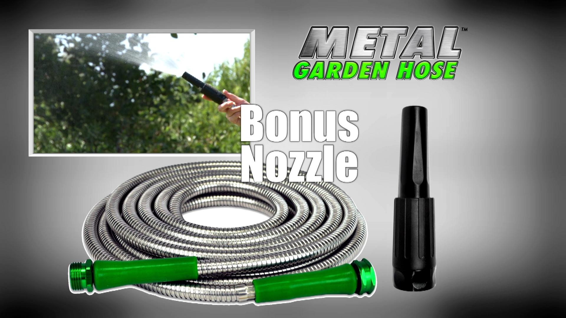 amazon com metal garden hose 50 u0027 the original 304 stainless