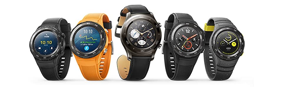 HUAWEI 55021666 Smartwatch 2 (4G/LTE, 4 GB ROM, Android Wear ...