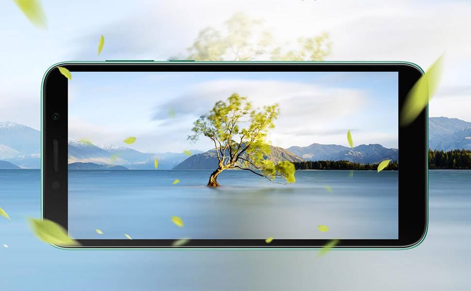 Huawei Y5p Dual SIM - 32GB, 2GB RAM, 4G LTE - Phantom Blue