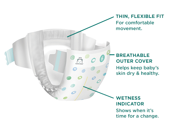 Gentle touch diapers