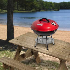 A Super Light, Portable Tabletop Grill That Assembles In Minutes