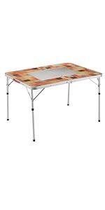 コールマン(Coleman) テーブル ナチュラルモザイクBBQテーブル 110プラス 2000026760