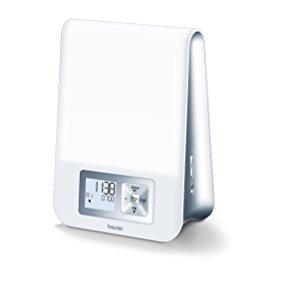 Beurer WL 70 Despertador con luz, Color Blanco