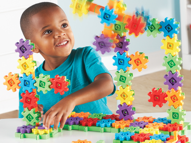 Learning Resources Gears Gears Gears Super Building Toy Set 150 Pieces Ages