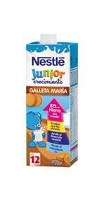 ... Nestlé Junior Crecimiento Galleta 1L ...
