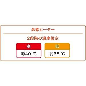 2つの温度モード付