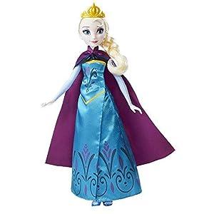 Amazon.es: Disney Frozen - Muñeca transformación Real de Elsa ...