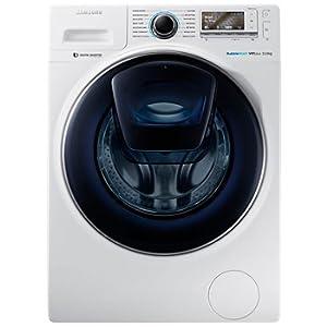 Samsung Washing Machine - Automatic, 11 Kg, Front Load, AddWash, White