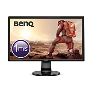 "BenQ GL2460BH – Monitor Gaming de 24"" Full HD (1920x1080, LED, 16:9, HDMI, DVI, VGA, 1ms, 75Hz, altavoces, Eye-care, Sensor Brillo Inteligente, Flicker-free, Low Blue Light) color negro: Benq: Amazon.es: Informática"