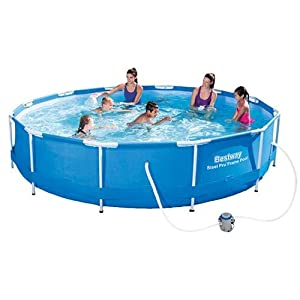 Bestway Steel Pro Round Swimming Pool - 56416