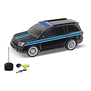 Best Toy 1 12 R/C 4 Func Police Car with Light And Music Asst Clr 10-3688-11