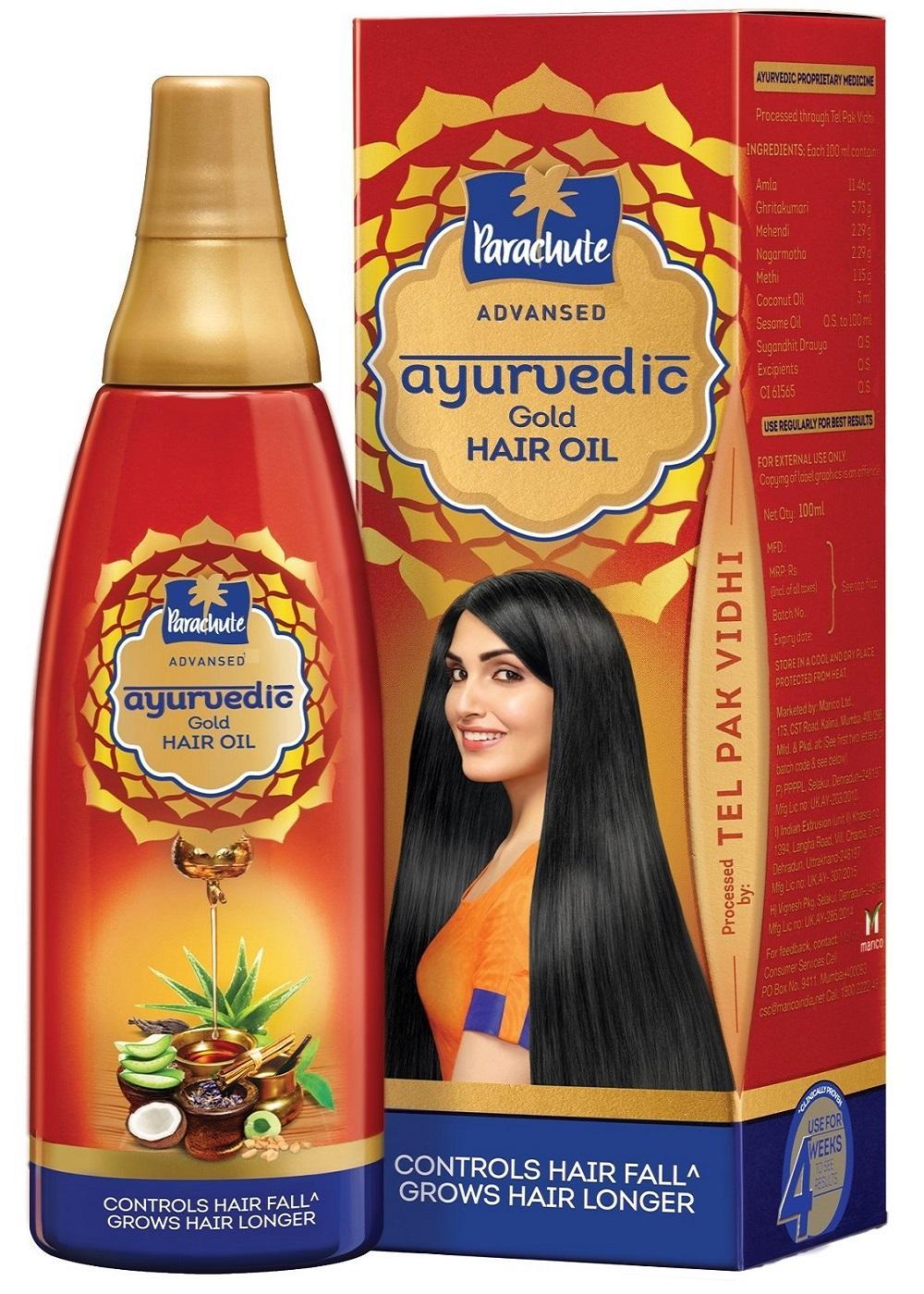 Buy Parachute Advanced Ayurvedic Gold Hair Oil 200ml