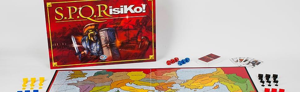 RISIKO SPQR SPQRisiko 6053992 EDITRICE GIOCHI