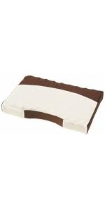 昭和西川 ムアツ まくら ムアツ枕 MP8050 ベージュ 約50×35cm 両面使用 2220208500234