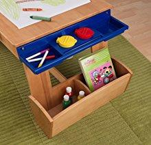 4a4aa8dbc9be Amazon.com  KidKraft Art Table with Drying Rack and Storage  Toys ...